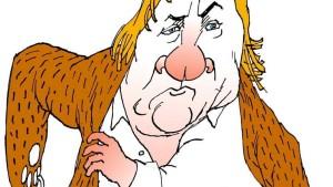 Man muss ganz Russland schrubben, damit es für Depardieu glänzt
