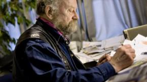 Kurt Westergaar zeichnet