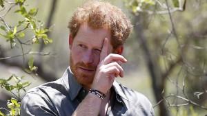 Die Tränen Prinz Harrys
