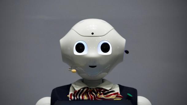 Wenn Roboter die Nachrichten ansagen
