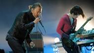 Thom Yorke und Jonny Greenwood von Radiohead