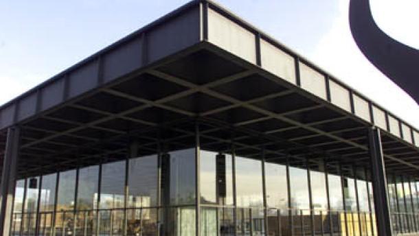 Berlin: Verlockungen für Anhänger des Bau-Visionärs Mies van der Rohe