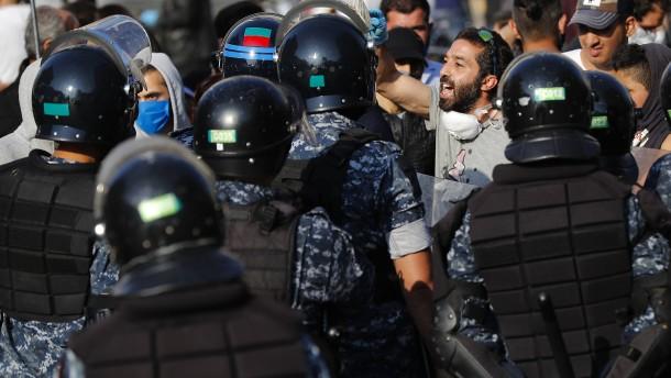 Schwere Unruhen im Libanon