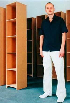m belmesse rafael horzon baut regale die gl cklich machen sollen feuilleton faz. Black Bedroom Furniture Sets. Home Design Ideas