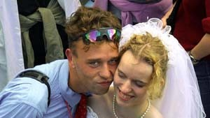 Technobeats statt Hochzeitsmarsch