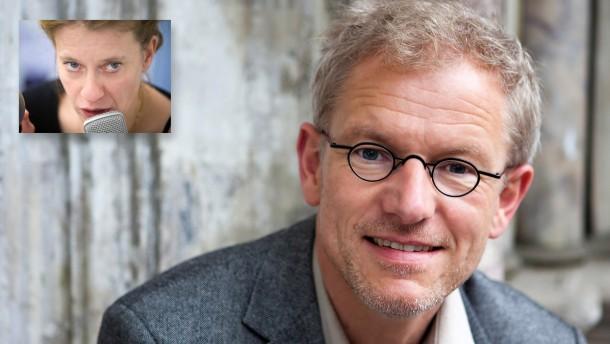 """Caroline Peters liest Heinrich Deterings Gedicht """"Kilchberg"""""""