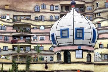Architektur die gebauten tr ume des friedensreich for Hundertwasser architektur