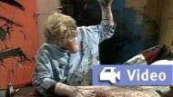 """Ausschnitt aus dem Video """"Painter"""" von Paul McCarthy"""