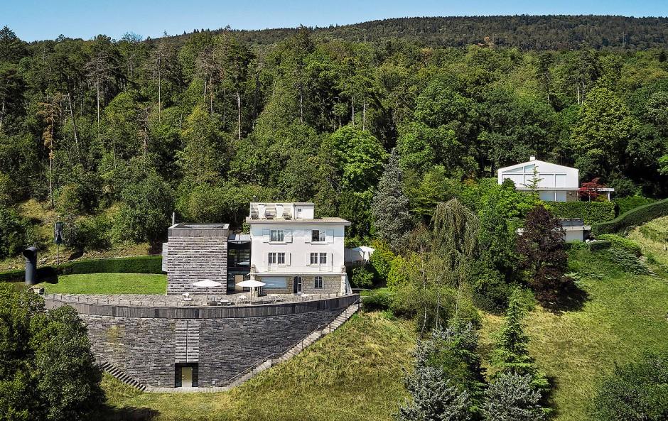 """Seine """"Burg"""": Das Centre Dürrenmatt Neuchâtel"""