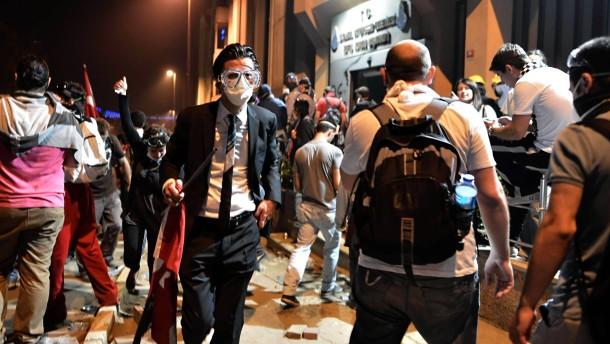 Es ist Revolution, und die Reporter gehen weg