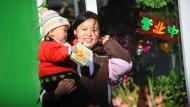 Die Mutter des Erfolgs: Schon im Vorschulalter müssen viele chinesische Kinder pauken - Schriftzeichen und Sprachen etwa