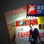 """Wie den Leser für sich gewinnen? """"Spiegel"""", """"Stern"""" und """"Fokus"""" haben die Schlagzeilen im Augenblick für sich."""