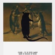 """Ein Ratten-Reigen, der die """"Flatness"""" ins Bild bringt: Baldessaris """"Movie Scripts/Art: Seems likely"""", 2014"""