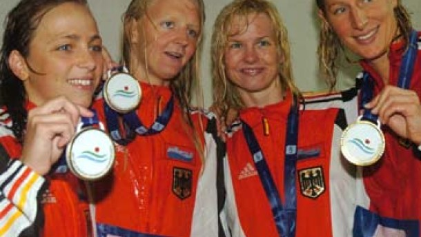 Frauenstaffel schon wieder mit Weltrekord