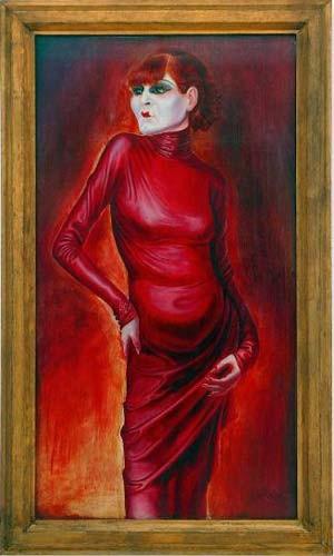 "Otto Dix: ""Bildnis der Tänzerin Anita Berber"" (1925)"