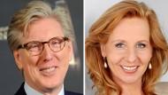 Eine/r von beiden wird RBB-Intendant/in: Theo Koll und Patricia Schlesinger.