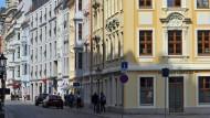 Neobürgerliche Pracht: renovierte Bürgerhäuser vor der Dresdner Frauenkirche
