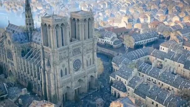 Ubisoft gibt Notre-Dame-Spiel frei und spendet