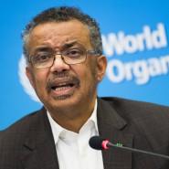 Der Direktor der Weltgesundheitsorganisation Tedros Ghebreyesus