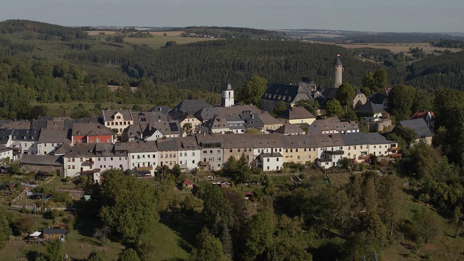 Lichtenberg in Oberfranken, einstiger Wohnort von Peggy Knobloch