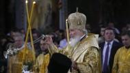 Kraftquelle von Neurussland? Der Patriarch Kyrill, Oberhaupt der russischen Orthodoxie.