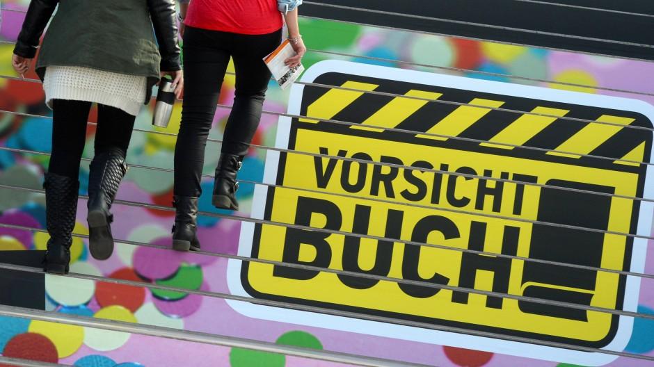 Bangemachen gilt nicht: Die Leipziger Buchmesse ist ein großes Fest des Lesens im Frühjahr.