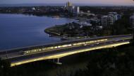 Schauplatz des Krimis David Whish-Wilsons: Perth am Swan River heute