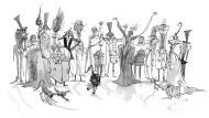 Gestatten: Gräfin Sauergräm, Samplona Schimmelzeh, Lutger Buckel und der Rest der Gespenster-Großfamilie