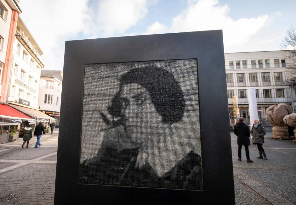 Else-Lasker-Schüler-Denkmal von Stephan Huber in Wuppertal