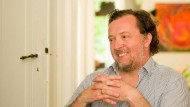 Und er lacht doch: Christian Gerhaher bei seinem Frankfurter Gastspiel