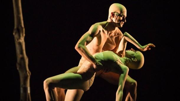Der Tanz humanoider Roboter