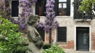 Innenhof des Palazzetto Bru Zane in Venedig