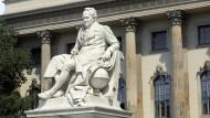 Um Schadensbegrenzung bemüht: Humboldt-Universität zu Berlin