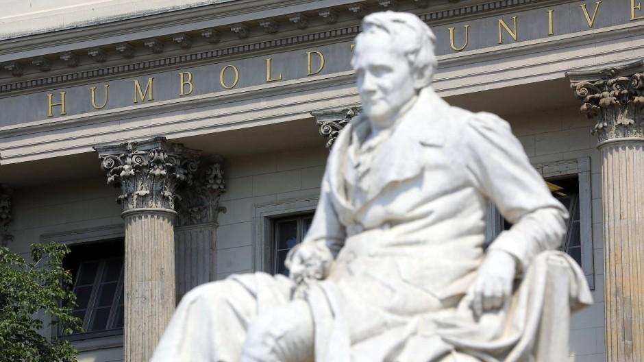 Wurde zum Schauplatz einer Diskursverengung: die Humboldt-Universität zu Berlin.