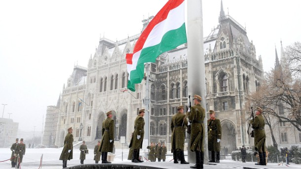 Künstler protestieren gegen Rechtsruck in Ungarn