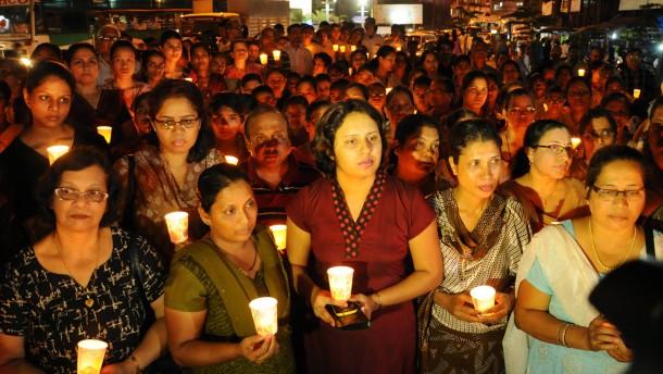 Trauer in Mangalore um Jacintha Saldanha