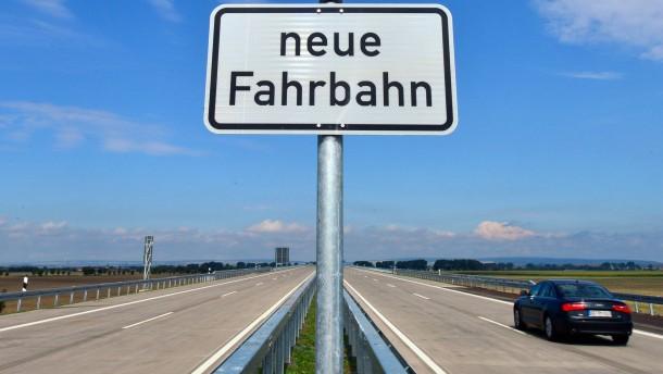 Auf der Autobahn herrscht Krieg
