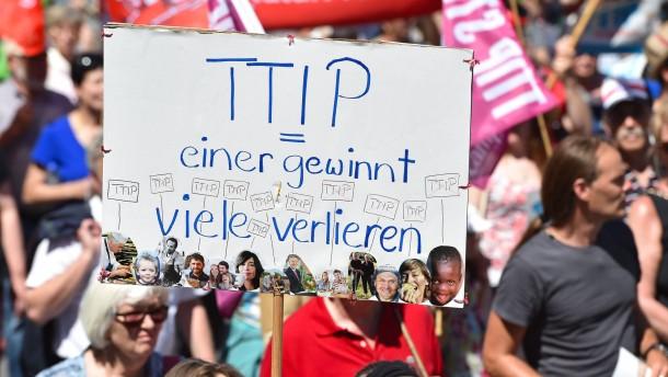 Niemand hört den Widerstand gegen TTIP