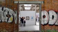 Axel Krause durfte seine Bilder hier nicht zeigen: 26. Leipziger Jahresausstellung