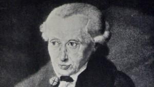 Flüchtling Kant
