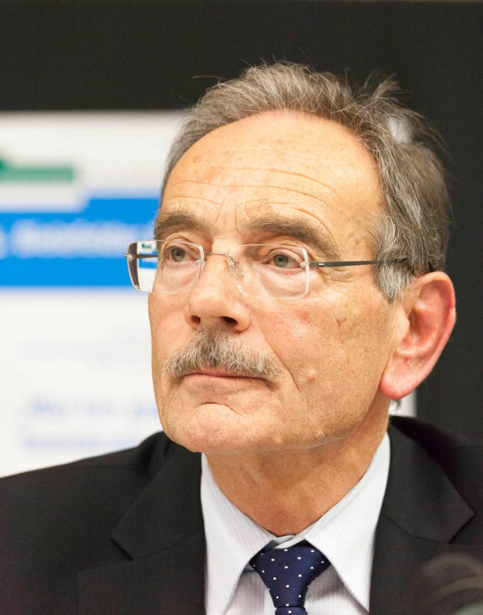 """Will innerhalb der EU und der Nato einen """"Intelligence Kodex"""" aushandeln lassen: der ehemliage BND-Chef Hansjörg Geiger"""