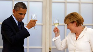 US President Barack Obama visits Berlin
