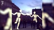 Figuren aus Licht