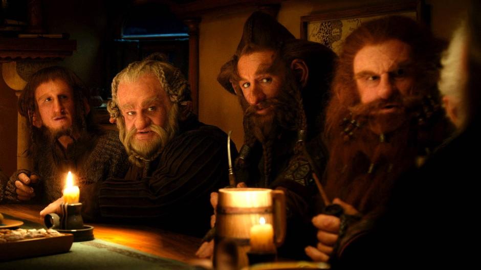 """Kann man sich so die heutigen Wissenschaftsphilosophen vorstellen? Zumindest der Physiker Freeman Dyson sieht in ihnen einen Haufen Zwerge. Im Bild: Szene aus dem Film """"The Hobbit"""""""