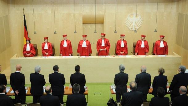 Der zweite Senat des Bundesverfassungsgerichts