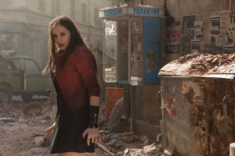 "Verstecken ist keine Option: Elizabeth Olsen als Wanda in ""Avengers: Age Of Ultron"""