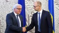 Steinmeier wirbt in Ukraine für nationalen Dialog
