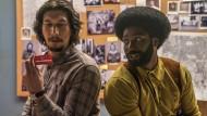 Zwei im Undercover-Kampf gegen Rassismus: Adam Driver (l) und John David Washington im neuen Film von Spike Lee.