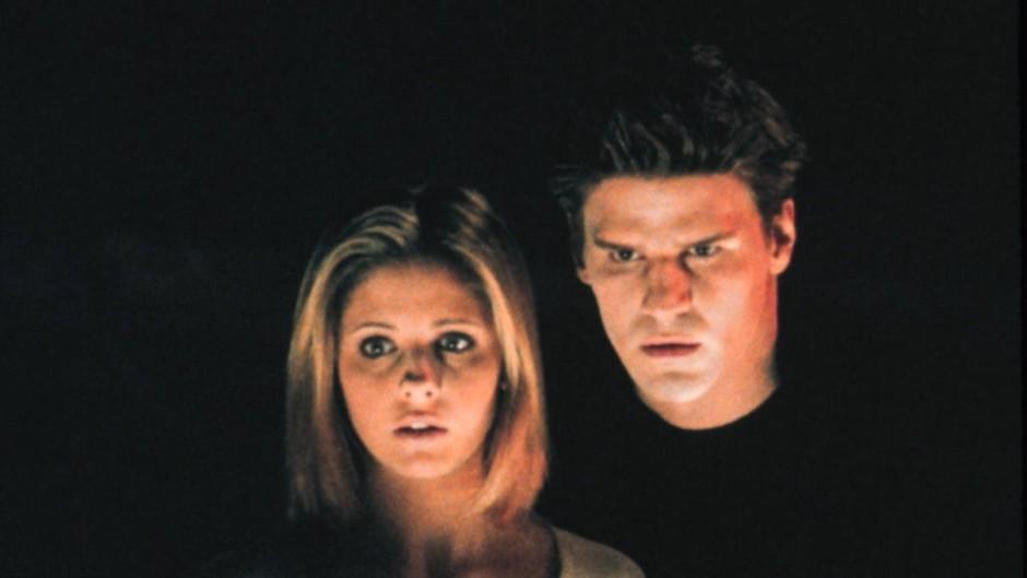 """Sarah Michelle Gellar und David Boreanaz in Whedons """"Buffy - Im Bann der Dämonen"""""""