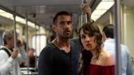 """Es geht ihnen nicht gut: Colin Farrell und Noomi Rapace in """"Dead Man Down"""""""